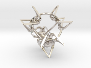 Crowns D4 in Platinum