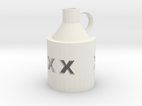 littlebrownjugpendent in White Natural Versatile Plastic