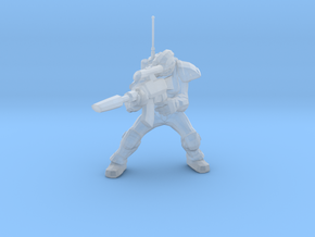1/60 Ghost Nuclear Weapon Launching Pose in Frosted Ultra Detail