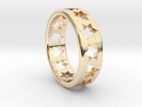 Star of David Ring in 14K Yellow Gold
