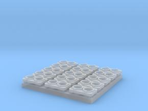 Nose Light - Sealed Dual Beam (N/TT) in Smoothest Fine Detail Plastic: 1:120 - TT