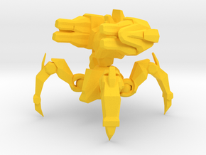 1/60 Protoss Immortal Fixed Pose in Yellow Processed Versatile Plastic