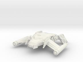 Romulan FireBird  HvyDestroyer in White Natural Versatile Plastic