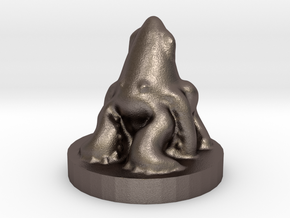 Game of Thrones Risk Piece Single - Greyjoy in Polished Bronzed Silver Steel