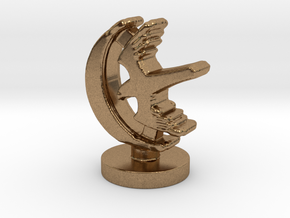 Game of Thrones Risk Piece Single - Arryn in Natural Brass
