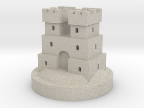 Game of Thrones Risk Piece Single - Frey in Natural Sandstone