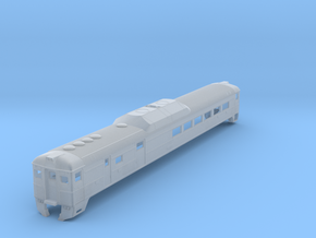 N Scale Budd RDC-3 BC Rail Version Shell in Frosted Ultra Detail