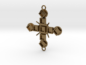Pendant Luctor in Polished Bronze