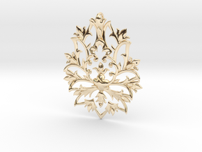 CODE: SLTS02 - PENDANT in 14k Gold Plated Brass