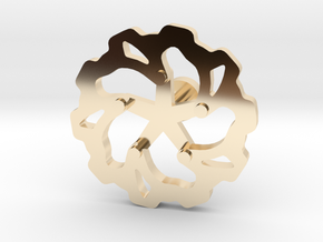 Moto: Rotorlink in 14K Yellow Gold