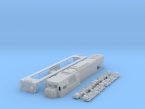 N scale GT22hcw or JZ-645 / HZ2044 locomotive in Frosted Ultra Detail