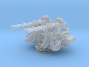 1/144 USN 40mm Quad Bofors Mount in Frosted Ultra Detail