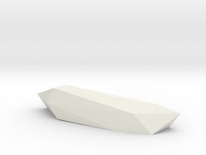 Roc3 in White Natural Versatile Plastic