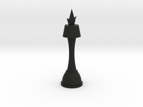 Code Geass King Chess Piece in Black Natural Versatile Plastic