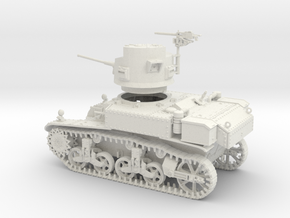 VBU Light Tank US M3 Stuart in White Strong & Flexible
