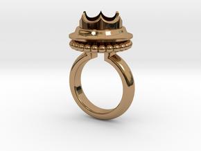 Ring Marie De Bourgogne in Polished Brass: 5.5 / 50.25