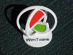 WimTvane in White Strong & Flexible Polished