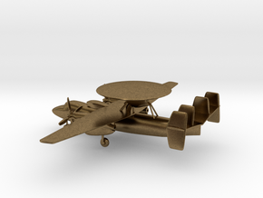 Northrop Grumman E-2 Hawkeye in Natural Bronze: 1:200