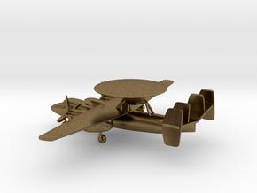 Northrop Grumman E-2 Hawkeye in Natural Bronze: 1:285 - 6mm