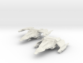 F-17B WindDragon Assault Ship in White Natural Versatile Plastic