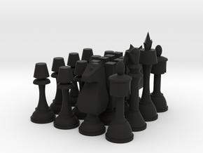 """Code Geass Chess Set 2.5"""" Tall in Black Strong & Flexible"""