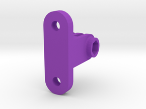 GoPro Bolted Mount in Purple Processed Versatile Plastic