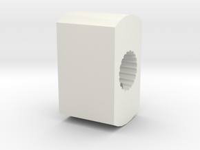 Pfister to Kohler adapter in White Natural Versatile Plastic