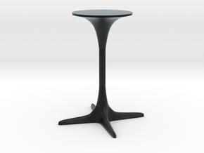 Burke Tulip Table Propeller Base in Black Hi-Def Acrylate: 1:12
