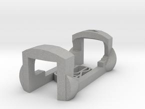 plastic clip for garmin foot pod SDM4 in Raw Aluminum