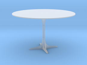 Burke Tulip Style Table w/ Propeller Base in Smooth Fine Detail Plastic: 1:12