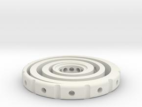Swirl R188 New in White Natural Versatile Plastic