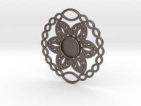 Flower charm in Stainless Steel