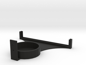 Lithostand Wallmount in Black Natural Versatile Plastic
