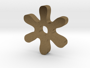 Asterisk in Natural Bronze