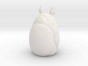 [C] 1/60 Totoro (Big) in White Natural Versatile Plastic