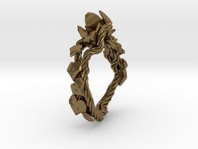 Garden Ring in Natural Bronze: 6 / 51.5