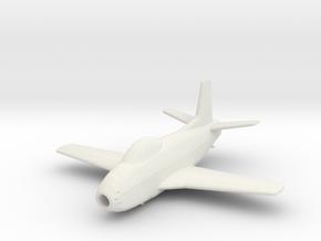 North American FJ-1 'Fury' in White Natural Versatile Plastic: 1:200