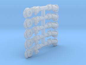 Air Brake Gladhands - 1:32 scale - Gauge 1 in Smoothest Fine Detail Plastic