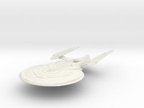 Sullivan Class  BattleCruiser in White Natural Versatile Plastic