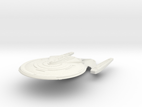 Zebulon Class  Cruiser in White Natural Versatile Plastic