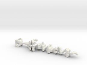 Twine Ensar/Aysun in White Strong & Flexible