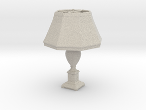 Printle Thing Lamp 02 - 1/24 in Natural Sandstone