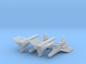 Viper Mk I Wing (Battlestar Galactica), 1/270 in Smooth Fine Detail Plastic
