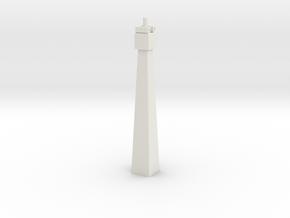 Pylon DL 55mm N Pin in White Natural Versatile Plastic