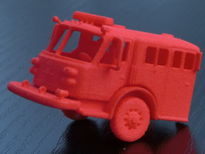 ALF Century 2000 1:64 Cab in Red Processed Versatile Plastic
