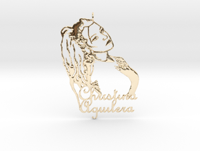 Christina Aguilera Pendant in 14k Gold Plated