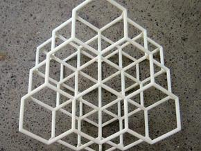 Diamond structure in White Natural Versatile Plastic