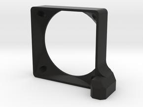 BD7 Fan Mount in Black Natural Versatile Plastic