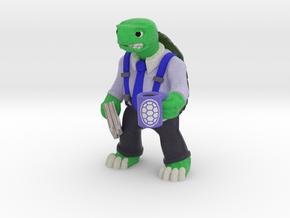 Day-Job Tortoise, Middle Manager (Sandstone) in Full Color Sandstone