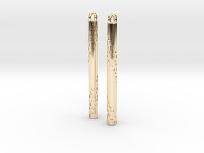 Bubbles Earrings in 14K Yellow Gold